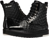 Love Moschino Quilted Combat Sneaker Women's Boots