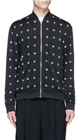 McQ by Alexander McQueen Swallow intarsia blouson jacket