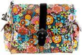 Kalencom Retro Floral Laminated Buckle Diaper Bag