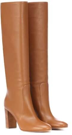 Gianvito Rossi Blanca 85 leather boots