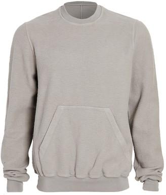 Rick Owens Granbury Inside Out Crew Neck Sweatshirt