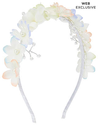 Monsoon Pastel Flower Bead Alice Hair Band