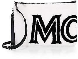 MCM Women's Medium Logo Shearling Pouch