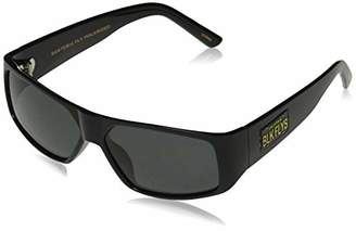 Black Flys Men's Santeria Fly (cali Plate) Polarized Shield Sunglasses