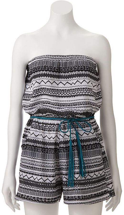 Trixxi chevron romper - juniors