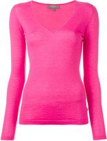 N.Peal cashmere superfine V-neck jumper - women - Cashmere - XS