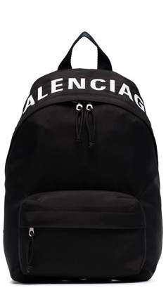 Balenciaga Wheel Small Leather Backpack