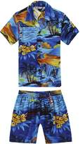 Hawaii Hangover Boy Hawaiian Shirt and Shorts Cabana Set in Size 2