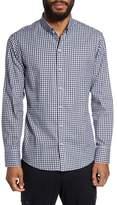 Zachary Prell Kapur Slim Fit Check Sport Shirt