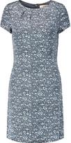 Tory Burch Harriet printed silk-faille mini dress