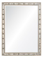 The Well Appointed House Silverleaf Framed Wall Mirror-ON BACKORDER UNTIL JUNE 2016
