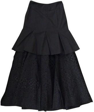 Alexander McQueen Grey Wool Skirt for Women Vintage