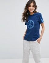 YMC Peace Indigo T-Shirt