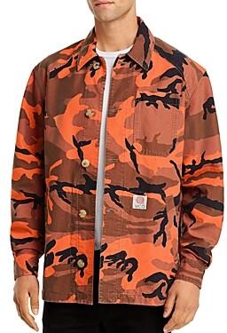 McQ Marshall Camouflage Print Shirt Jacket
