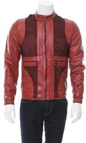 Bottega Veneta Contrast Leather Jacket