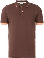 Capricode contrast polo shirt