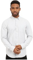 Obey Dissent Trait Long Sleeve Woven Top