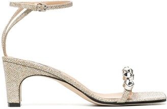 Sergio Rossi Sr1 crystal embellished sandals