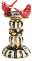 Mackenzie Childs MacKenzie-Childs Courtly Stripe Bird Candleholder
