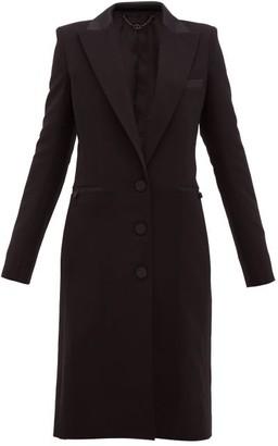 Paco Rabanne Single-breasted Wool-blend Coat - Black