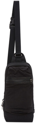 Master-piece Co Black Rebirth Project Edition Recycled Airbag Messenger Bag