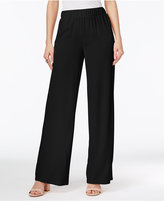 INC International Concepts Petite Wide-Leg Soft Pants, Only at Macy's