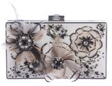 Mary Frances Feather Couture Flight Clutch