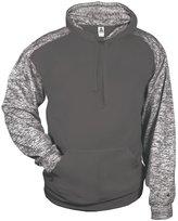 Badger mens Blend Sport Hooded Sweatshirt - BD1462 4XL