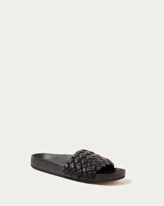 Loeffler Randall Sonnie Black Woven Sandal