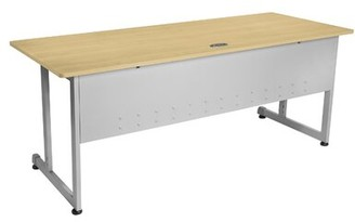 """OFM Modular Desk Size: 29.5"""" H x 60"""" W x 24"""" D, Color: Maple"""