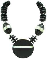 One Kings Lane Vintage Wood & Mother-of-Pearl Necklace