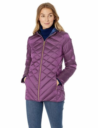 Ellen Tracy Women's Hooded Down Jacket