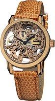 Akribos XXIV Women's AKR431RG Rose Gold Skeleton Automatic Watch