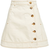 Thumbnail for your product : Ganni Denim Mini Skirt
