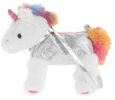 Girl's Capelli New York Magical Unicorn Shoulder Bag - White