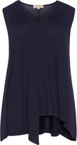 Isolde Roth Plus Size Asymmetric V-neck top