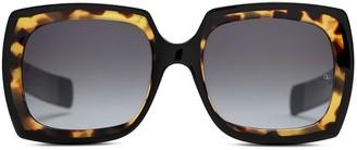 Oliver Goldsmith Sunglasses Fuz 1966 Black Leopard