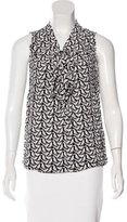 Kate Spade Sleeveless Printed Top