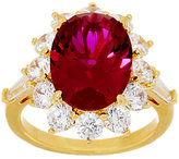"""Elizabeth Taylor The 5.05cttw """"The Perfect"""" Simulated Ruby Ring"""
