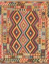 Ecarpetgallery eCarpet Gallery 216424 Hand-Woven Sivas Geometric 5' x 6' 100% Wool Area Rug