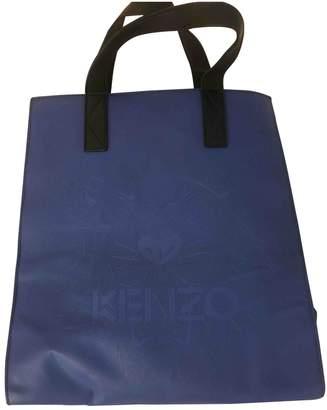 Kenzo Navy Leather Handbags