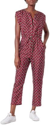 Joie Noleen Silk Jumpsuit