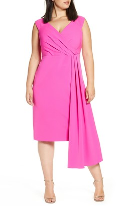 Eliza J Side Drape Dress