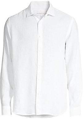 Orlebar Brown Men's Giles Linen Shirt