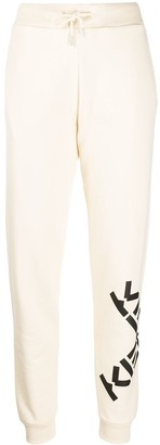 Kenzo Logo-Print Drawstring Track Pants