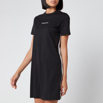 Calvin Klein Jeans Women's T-Shirt Dress with Mesh Tape