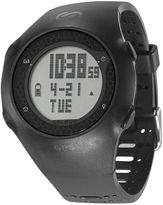 Soleus GPS Turbo Black Silicone Strap Running Digital Sport Watch