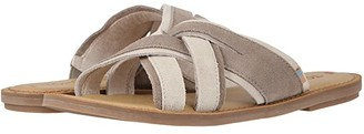Toms Val (Desert Taupe Suede) Women's Sandals