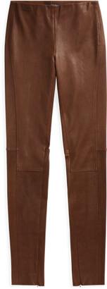 Ralph Lauren Leather Skinny Trouser