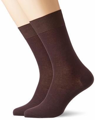 CORTEFIEL Men's Pack 2 Pares Algodon Elas Ankle Socks